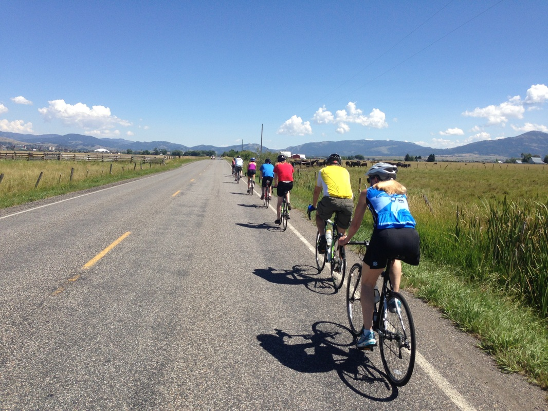Group rides in Bozeman